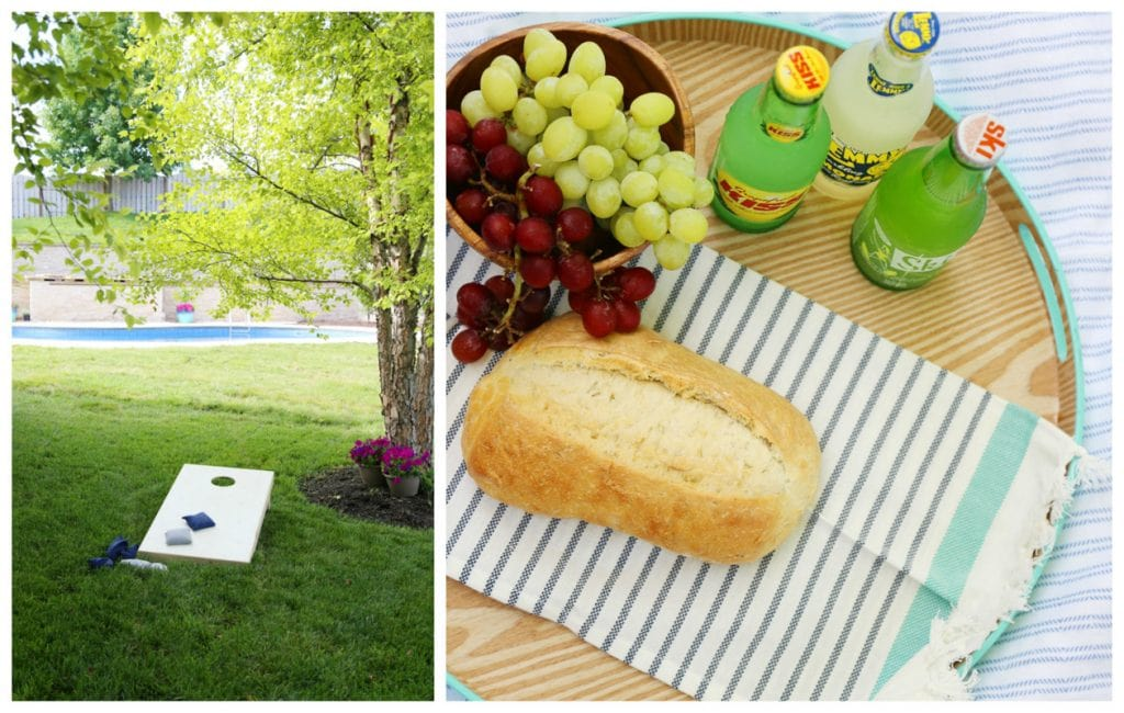 Staycation Picnic via Life On Virginia Street