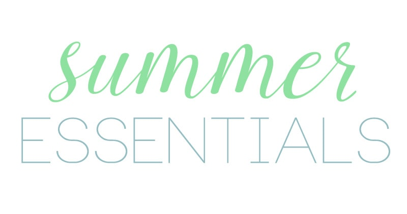 Summer Essentials via Life On Virginia Street