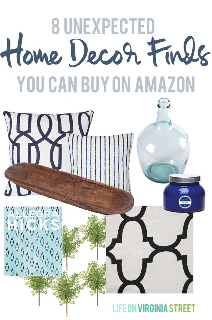 8 Unexpected Categories Of Home Decor Items On Amazon Via Life On Virginia  Street