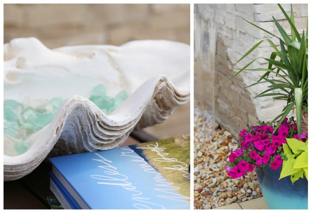 Beachy Decor via Life On Virginia Street
