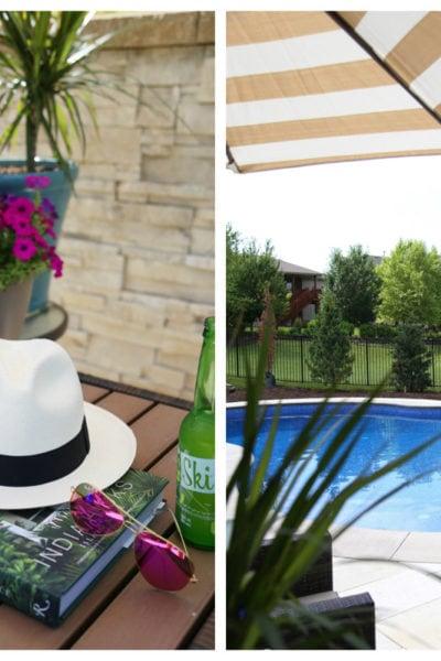 Backyard and Pool Reveal
