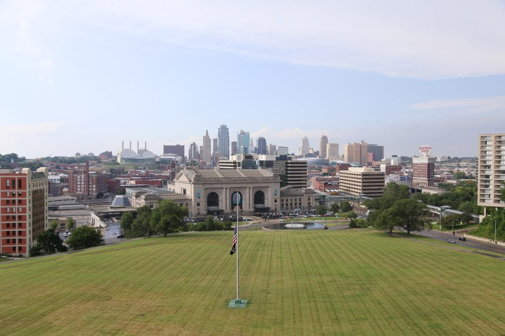 Downtown Kansas City Skyline via Life On Virginia Street
