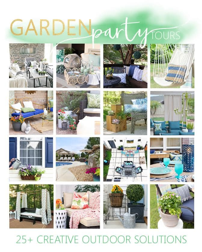 Garden Party Tours graphic.