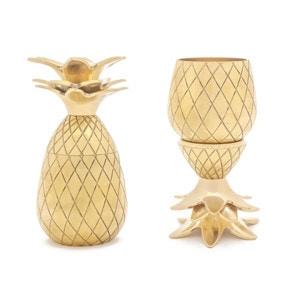 Gold Pineapple Shot Glasses