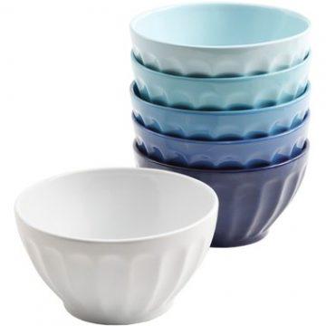 Ombre Blue Bowls