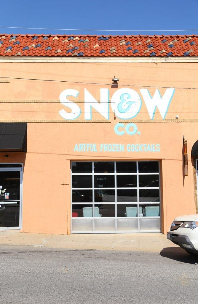 Snow & Co Artful Frozen Cocktails via Life On Virginia Street