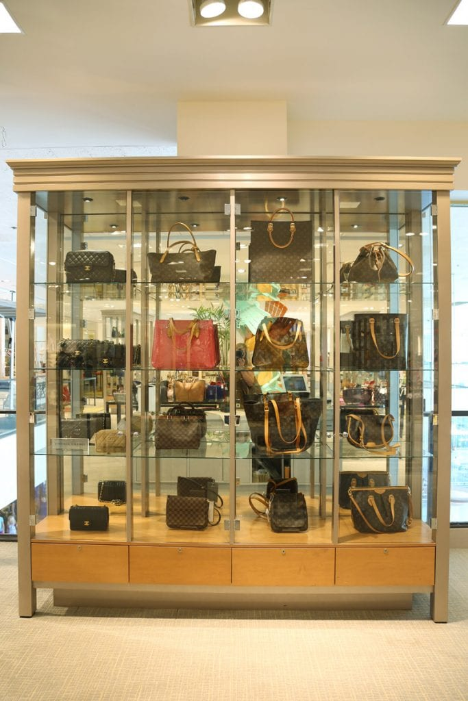 Vintage Louis Vuitton Collection at Hall's KC via Life On Virginia Street
