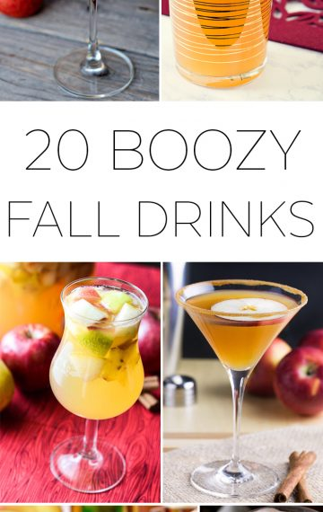 20 Boozy Fall Drinks