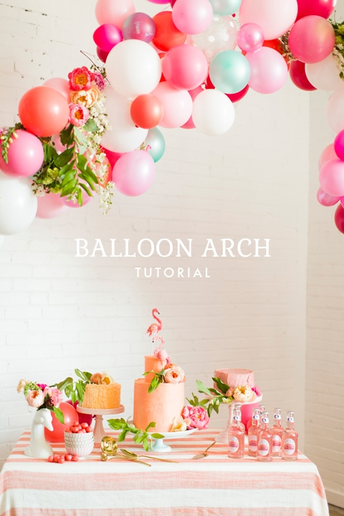 Balloon Arch Tutorial via The House That Lars Built