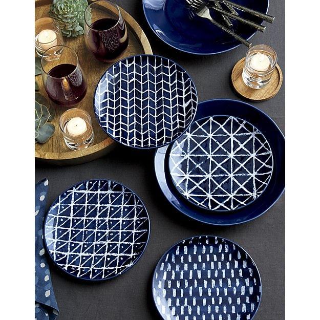 Indigo Batik Plates