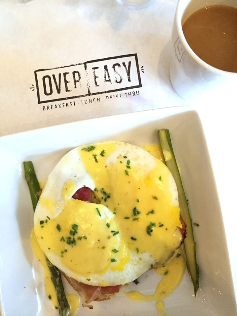 Over Easy Eggs Benedict