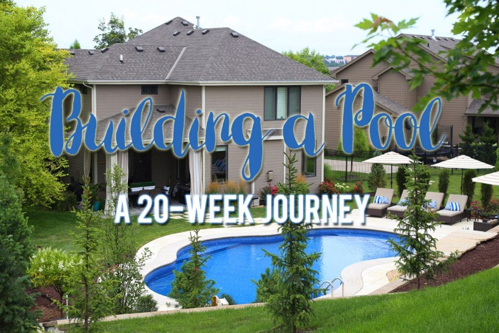 Building a Pool - A 20-week Journey with Video
