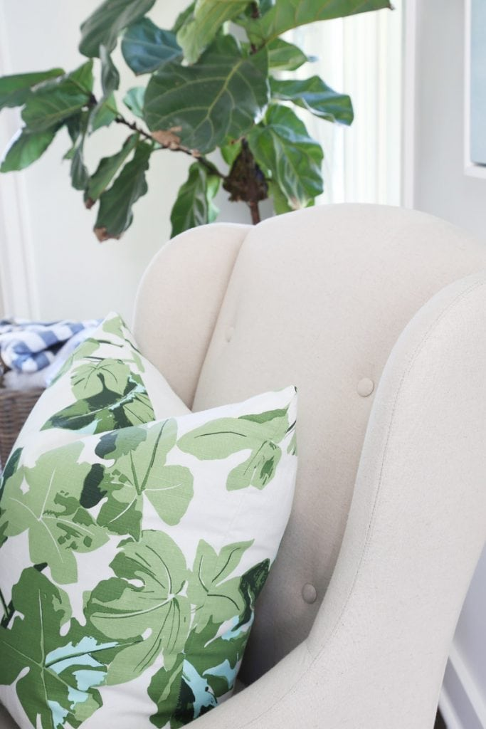 fig-leaf-pillow-on-dining-room-chair-via-life-on-virginia-street