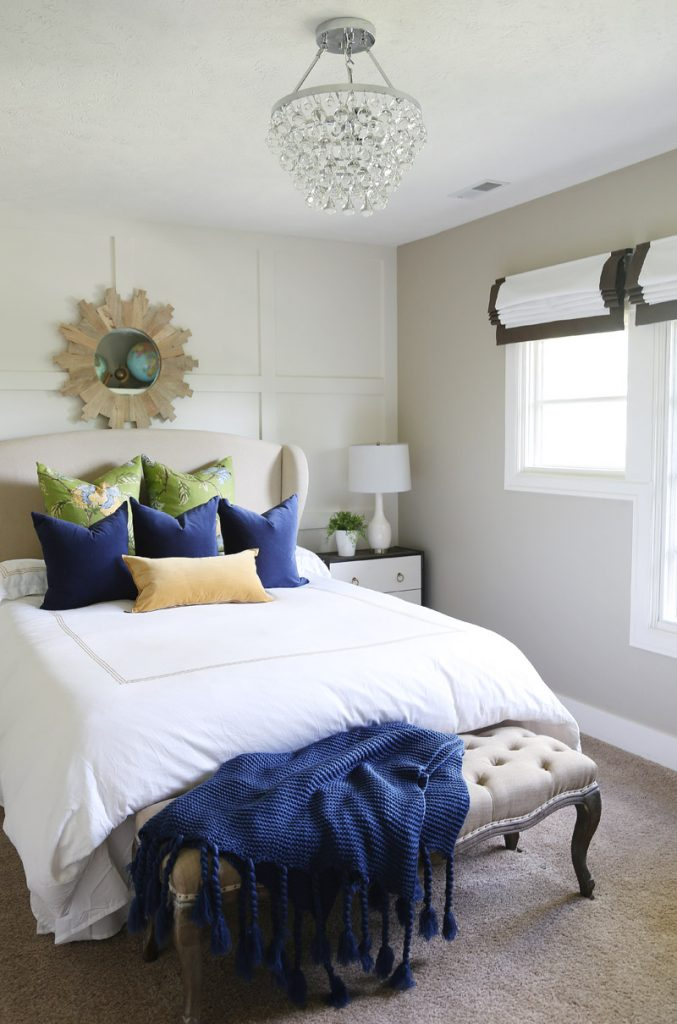 navy-blue-green-and-gold-fall-guest-bedroom