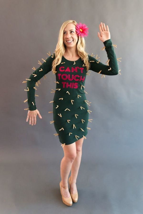 Can't Touch This Cactus Halloween Costume via Style Me Pretty and Evite