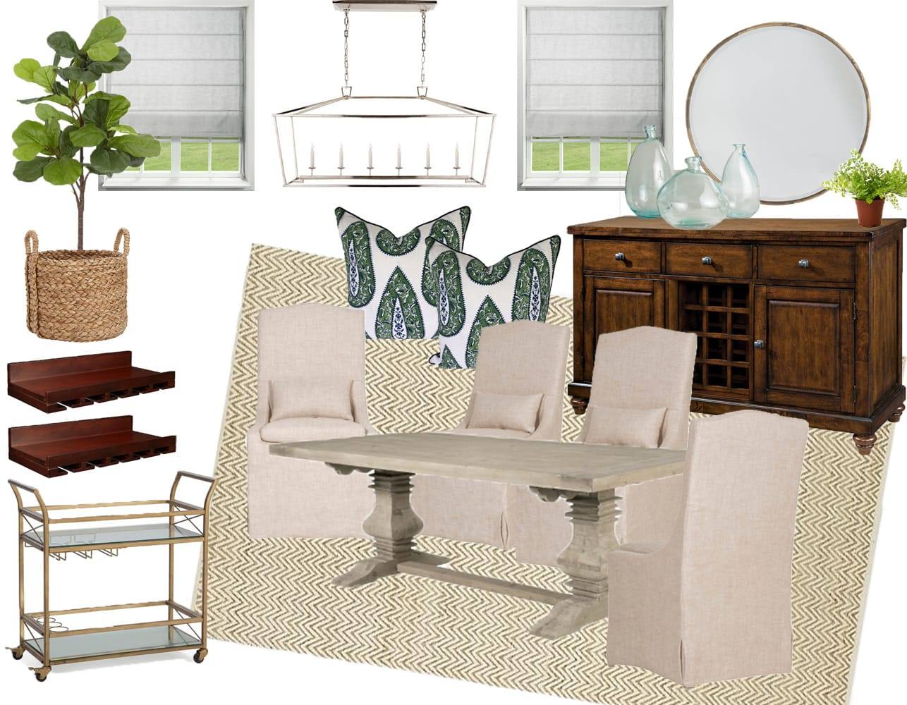 One room challenge dining room makeover 2 life on for Room design challenge