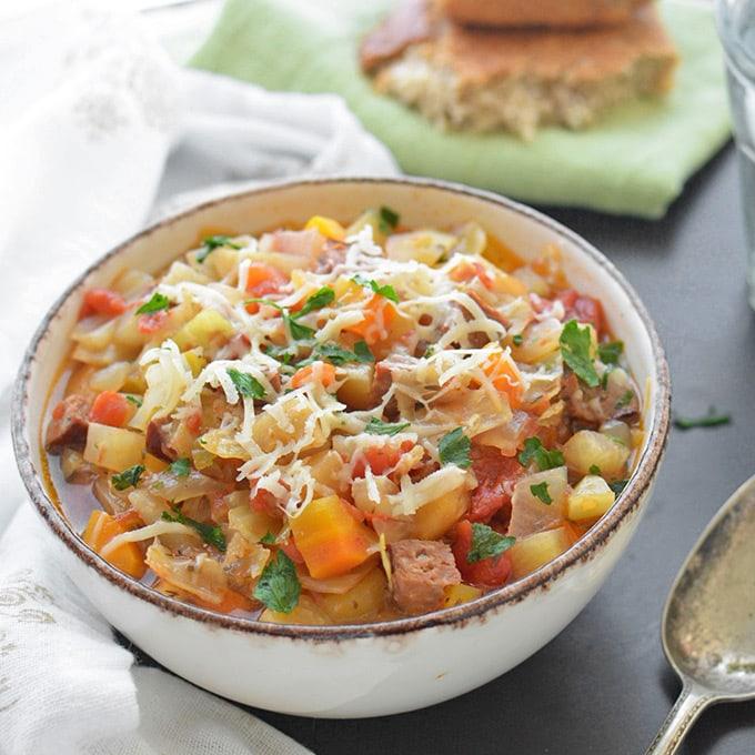 crock-pot-kielbasa-and-cabbage