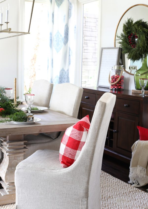 Christmas Dining Room Reveal