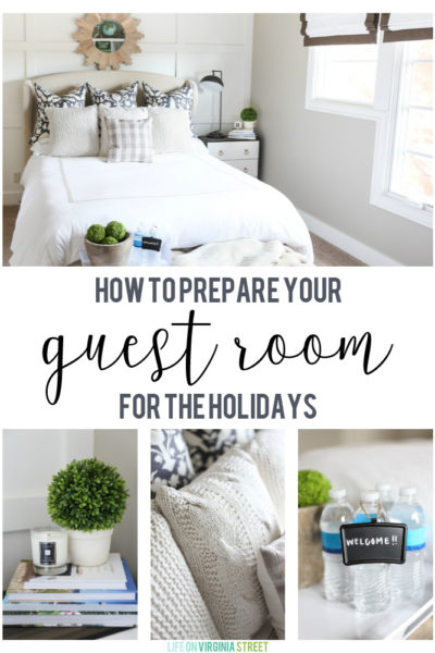 How to Prepare Your Guest Room for the Holidays