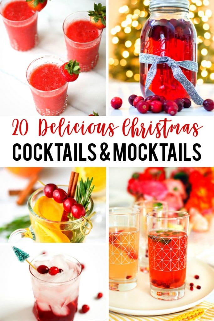 20 delicious Christmas cocktails and mocktails that are sure to make your season a little brighter!