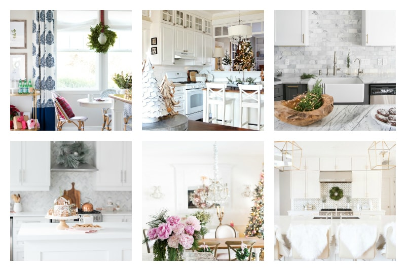christmas-home-tour-kitchen-collage