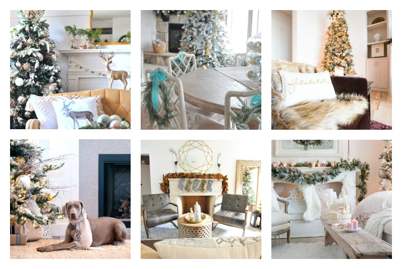 christmas-home-tour-living-room-collage blogger tour poster