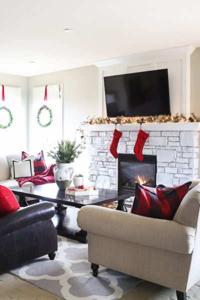 Christmas Home Tour: Living Room & Dining Room