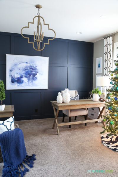 Christmas Home Tour: Office