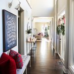 Christmas Home Tour: Entryway & Kitchen