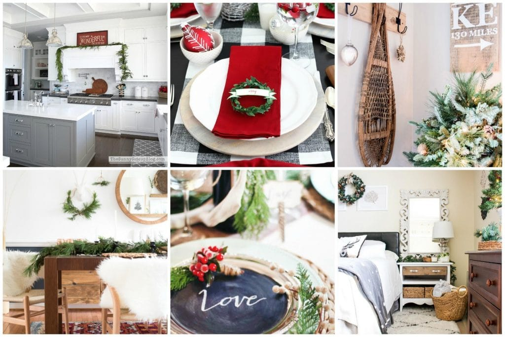 Cute holiday touches all around the house--this round up will be full of design inspiration.