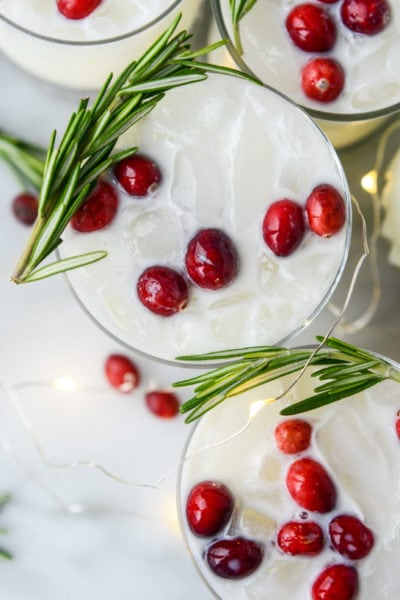 20 Christmas Cocktails and Mocktails