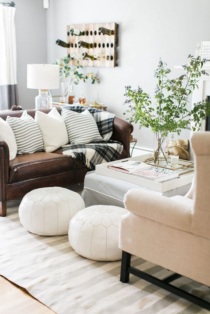 Home Tour via The Glitter Guide