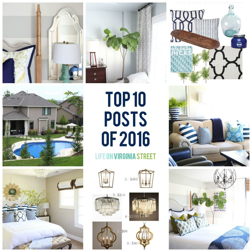 Life On Virginia Street: Top 10 Posts Of 2016! Thanks For Reading!