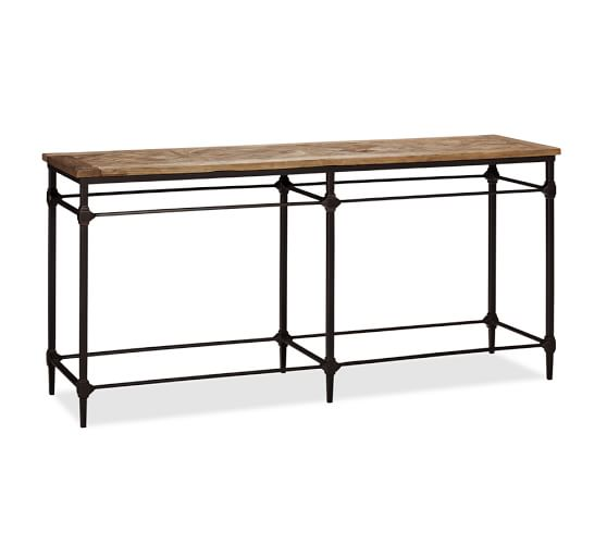 Parquet Console Table from Pottery Barn.