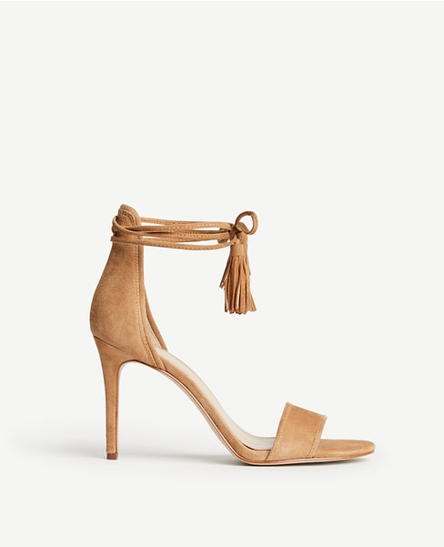 Love this strappy, nude sandal - perfect for the upcoming summer season!