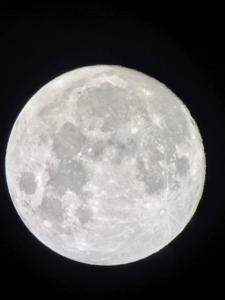 Photo of the moon taken by Life On Virginia Street at the Ritz Carlton Dove Mountain, AZ.
