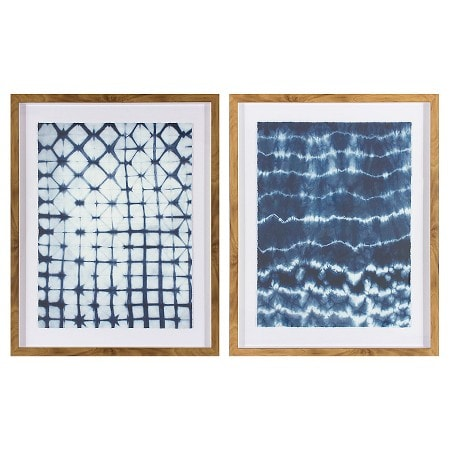 I've had my eye on this blue art set for a year! These two prints will look amazing in our new craft room.