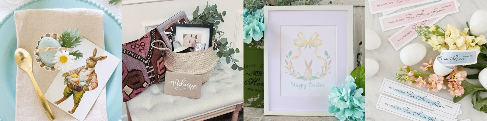 29 Free Easter Decor Printables