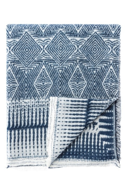 Indigo Ethnic Throw