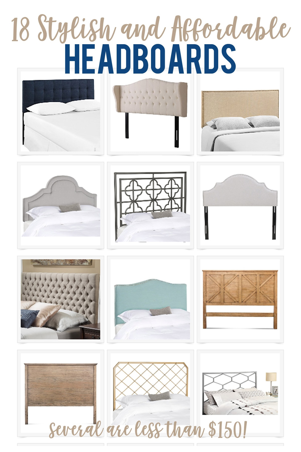 stylish and affordable headboards - life on virginia street