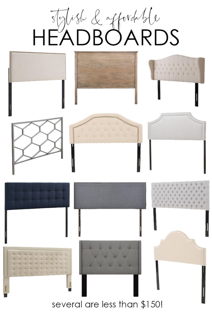 A collection of stylish and affordable headboards poster.