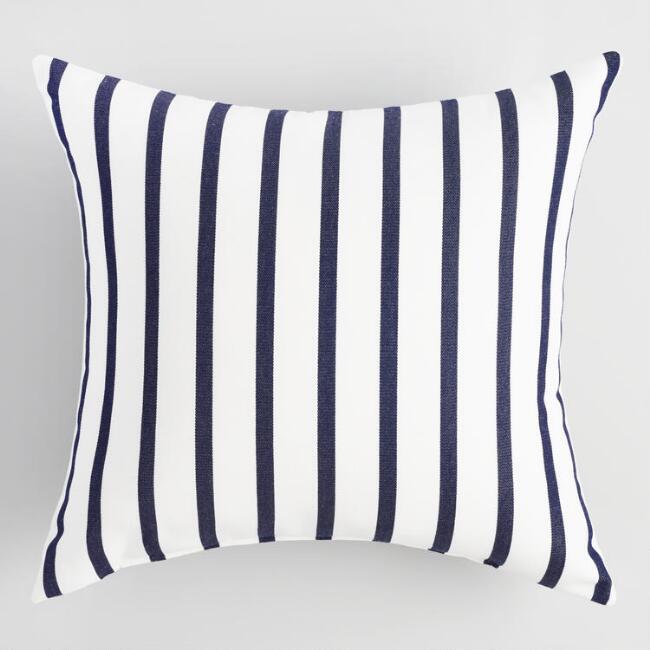 Sunbrella Lido Stripe Outdoor Pillow