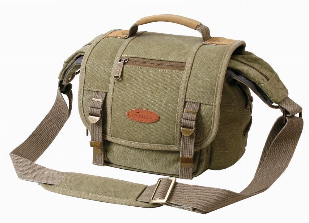 Khaki Camera Bag