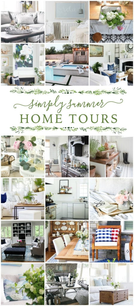 Simply Summer Home Tours from Life on Virginia Street
