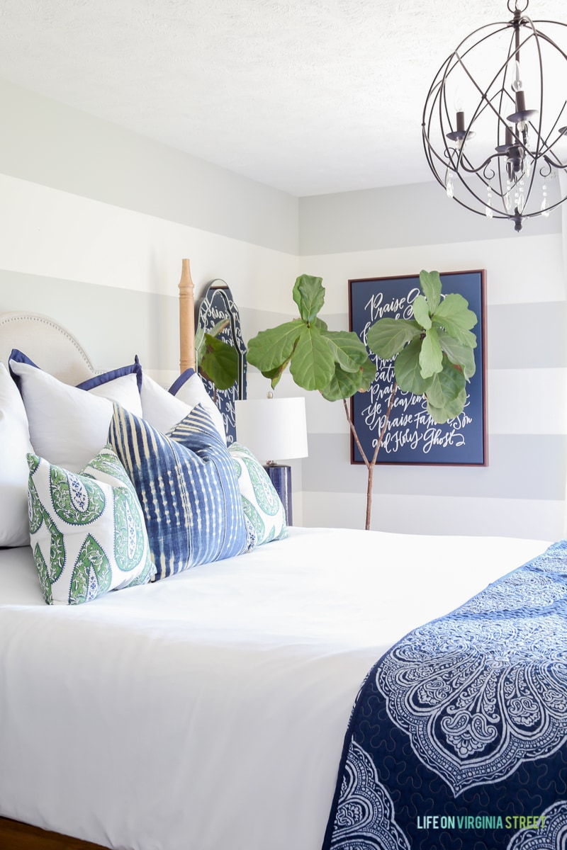 Updates: Summer Guest Bedroom Decor