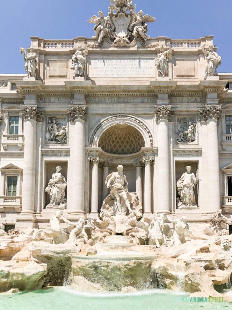A large Roman monument.
