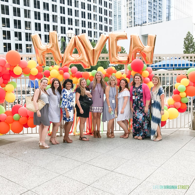 A fun shot of us at the Haven conference!