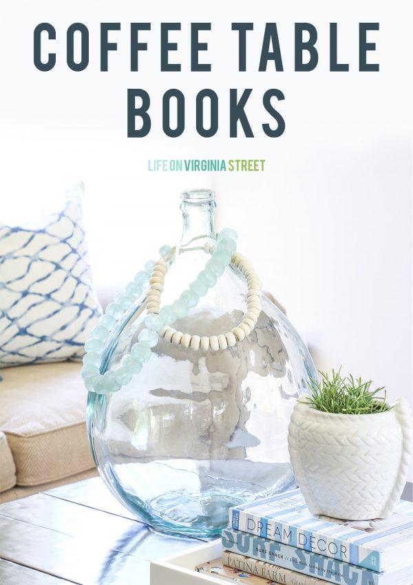My Favorite Design Coffee Table Books