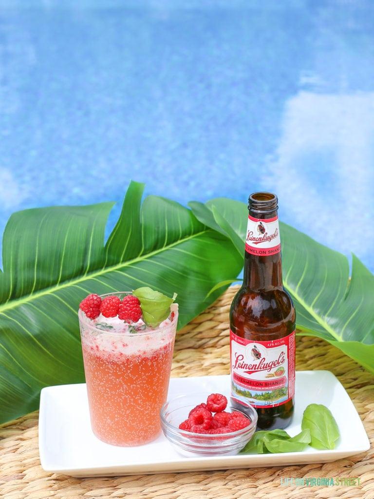 summertime beer cocktail