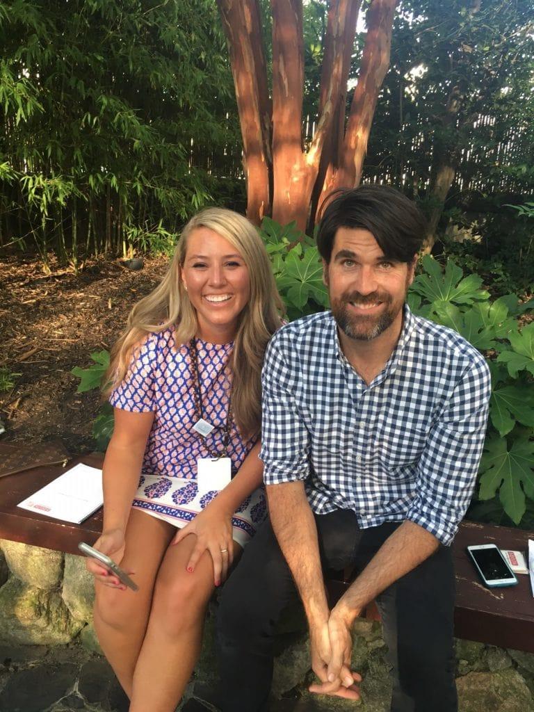 Sarah Stewart of Life On Virginia Street blog and HGTV's Brian Patrick Flynn